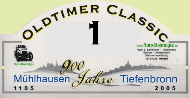 1.Tiefenbronn Classic